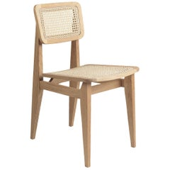 C-Chair Dining Chair, French Cane, Walnut