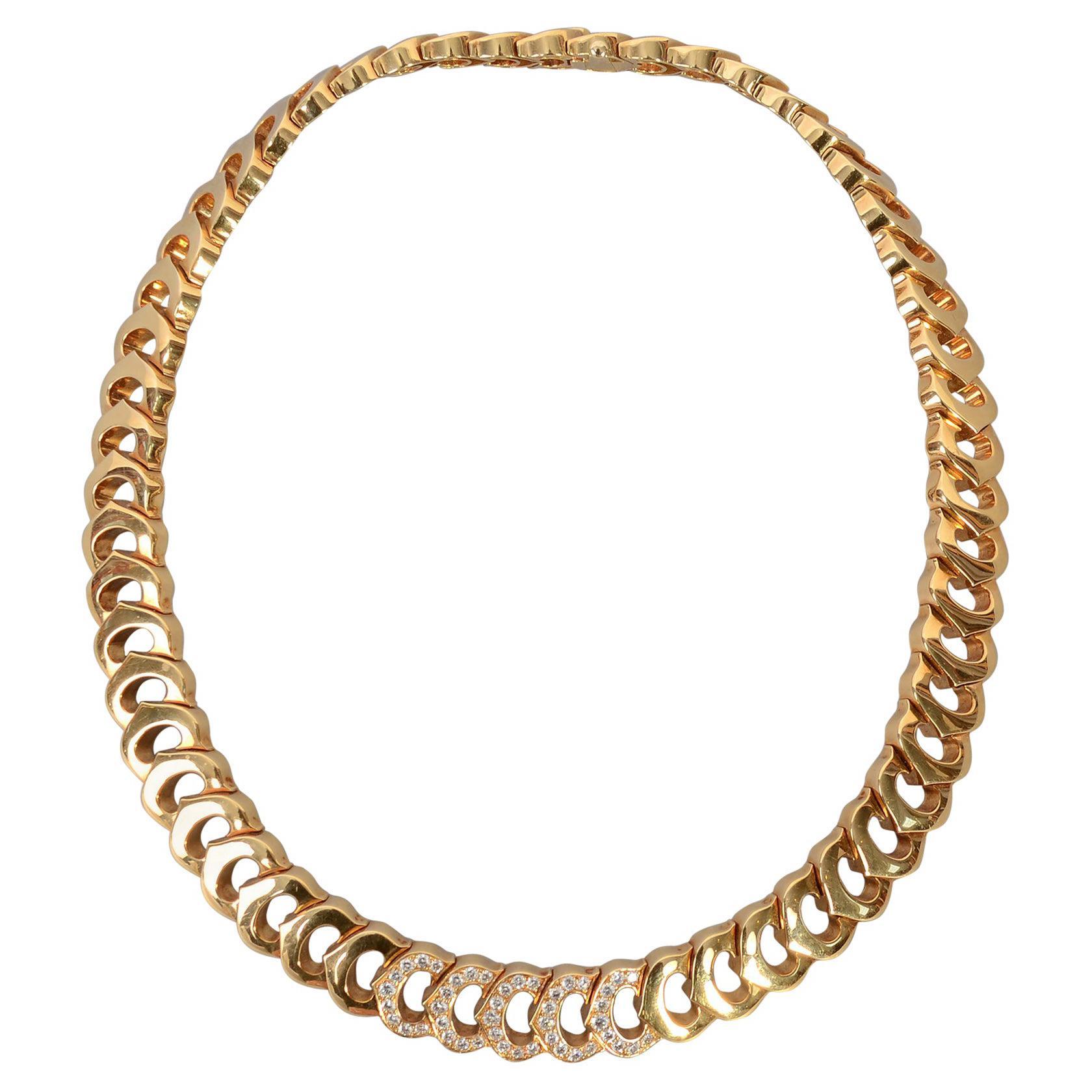 C de Cartier Diamond Choker Necklace
