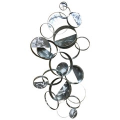C. Jere Floating Ring Sculpture