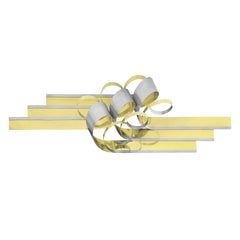 C. Jere Metal Ribbon Form Wall Sculpture
