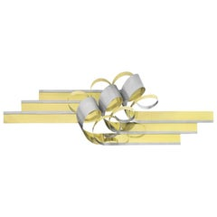 C. Jere Metal Ribbon Form Wall Sculpture