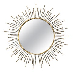 C. Jere Mirror, Spikes Signed
