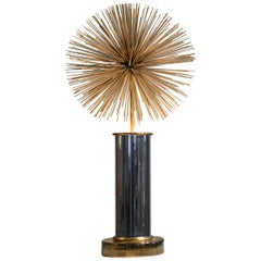 Curtis Jere Mixed Metal Pom-Pom Lighted Sculpture
