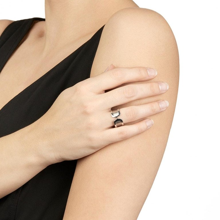C of Cartier Statement Ring For Sale 1
