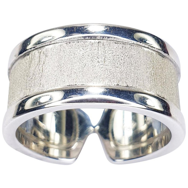 C of Cartier Statement Ring For Sale