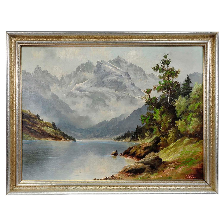 C. Schier, Alpine Lake in the Austrian Alps, ca. 1950