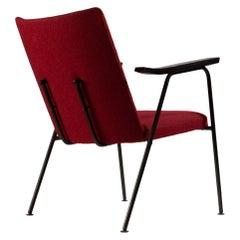 C08 AP Original Red Side Chair by Hein Salomonson