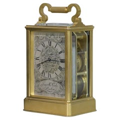 c.1840 English Ormolu Carriage Clock by James McCabe