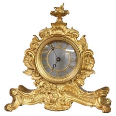 c.1840 English Ormolu Night Clock by John Pace