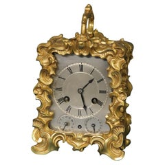 c.1845 French One-Piece Carriage Clock by Berrolla