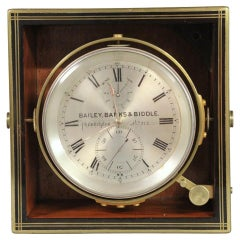 C.1875 English 8-Day Exhibition Style Chronometer by Poole