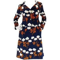 c1965 Hubert de Givenchy Haute Couture Dress & Jacket