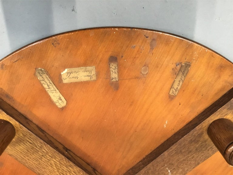 19th Century New Zealand Specimen Wood Table For Sale 7