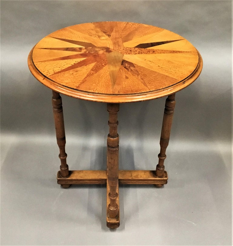 19th Century New Zealand Specimen Wood Table For Sale 15