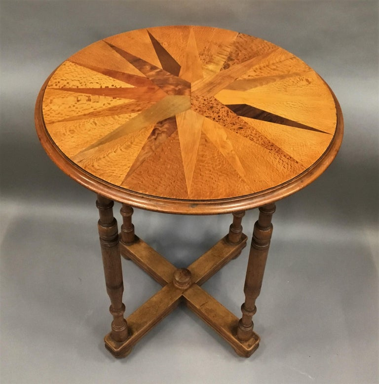 19th Century New Zealand Specimen Wood Table For Sale 1