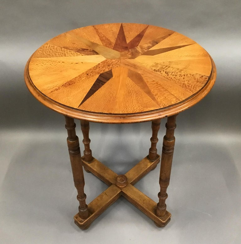 19th Century New Zealand Specimen Wood Table For Sale 2