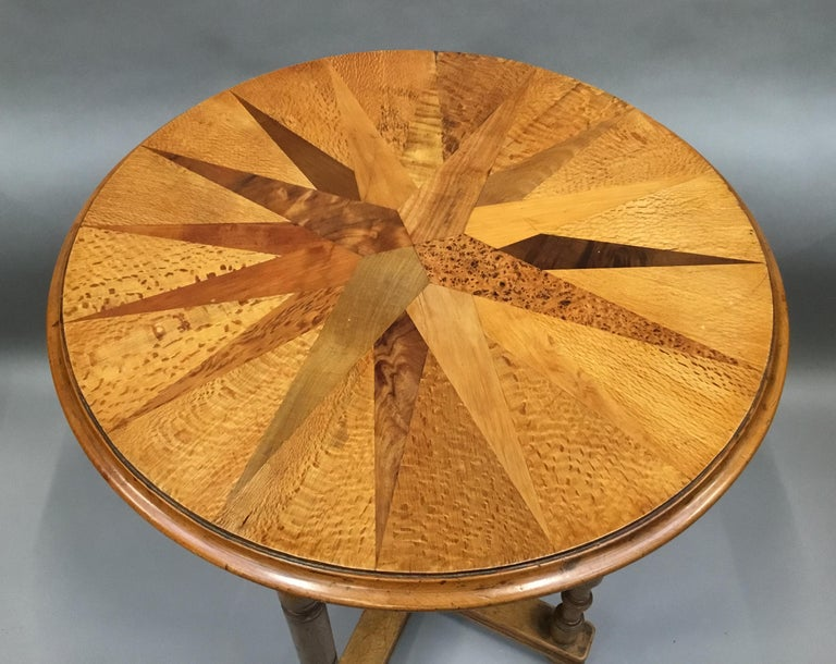 19th Century New Zealand Specimen Wood Table For Sale 3