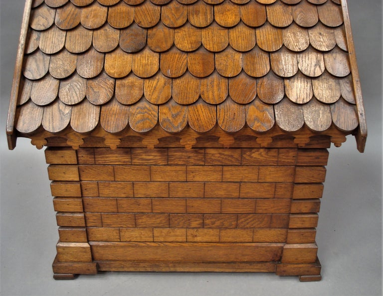 19th Century Oak Dog House or Dog Kennel For Sale 3