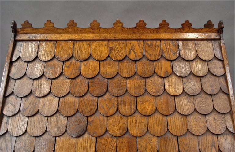 19th Century Oak Dog House or Dog Kennel For Sale 4