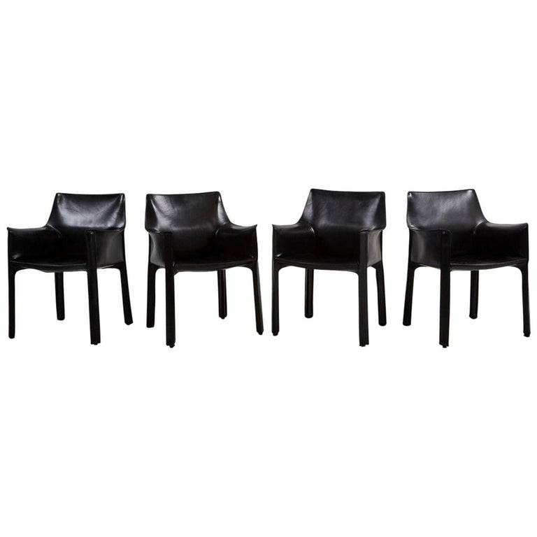 Cab Chairs by Mario Bellini For Sale