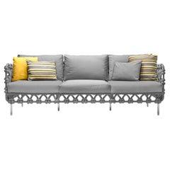 Cabaret Indoor Sofa Lowback by Kenneth Cobonpue