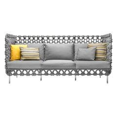Cabaret Outdoor Sofa Highback by Kenneth Cobonpue