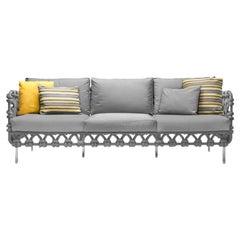 Cabaret Outdoor Sofa Lowback by Kenneth Cobonpue
