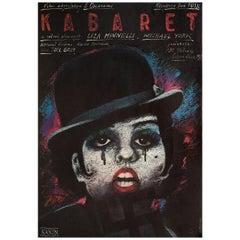 'Cabaret' R1980s Polish B1 Film Poster