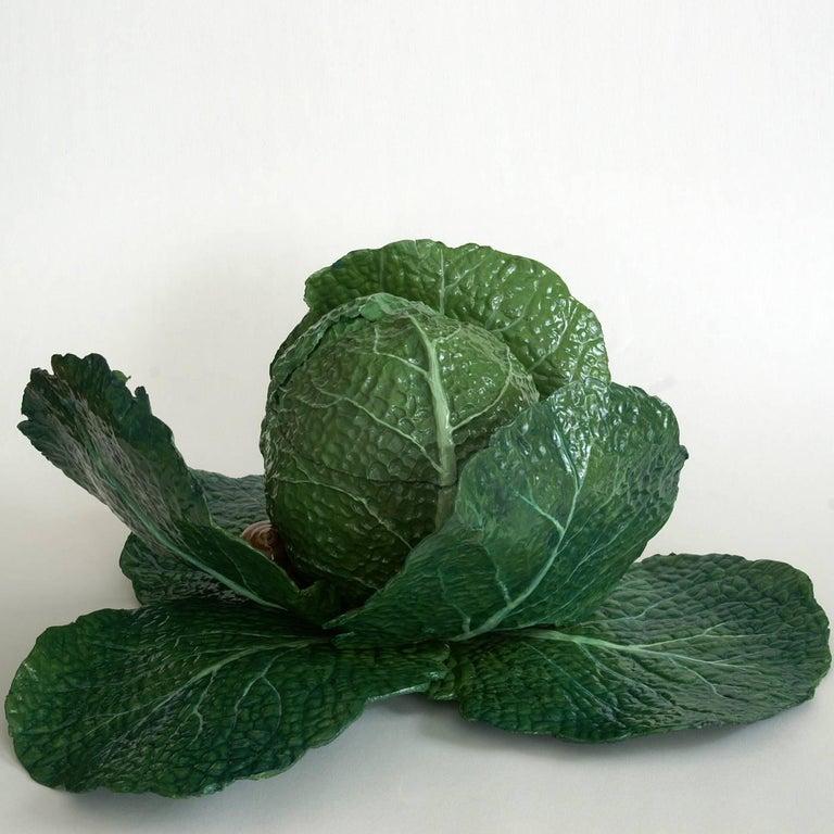 Italian Cabbage Box Sculpture For Sale
