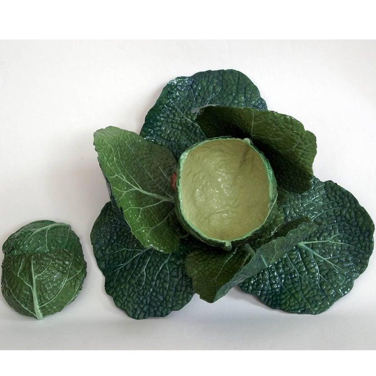 Contemporary Cabbage Box Sculpture For Sale