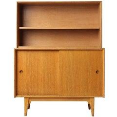 Cabinet and Open Shelf by Jens Risom