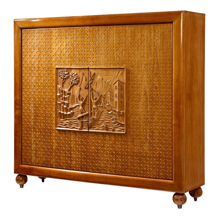 Cabinet by Osvaldo Borsani For Sale