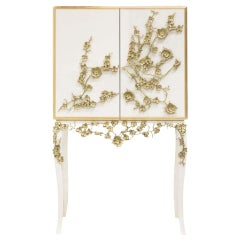 Cabinet-Bar with Flowers