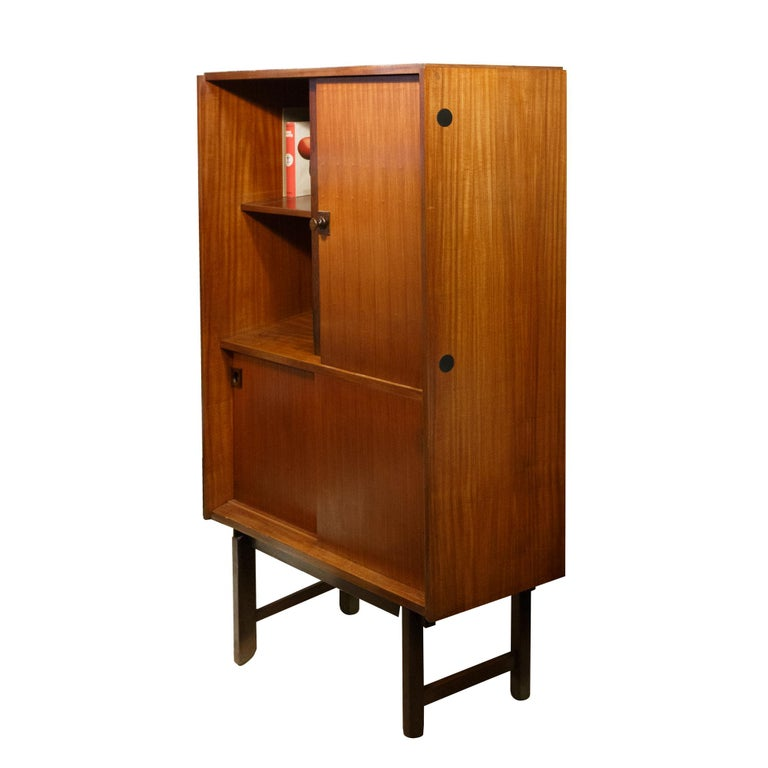 Mid-Century Modern Cabinet by Gianfranco Frattini from Mobili Cantu, Italy, 1960s For Sale