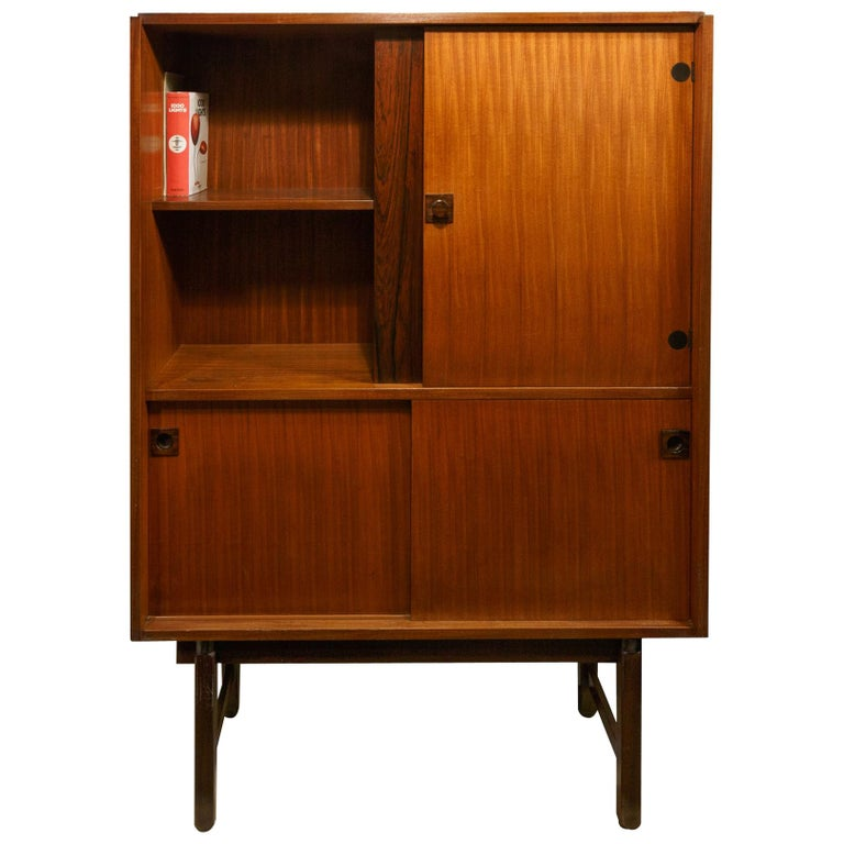 Cabinet by Gianfranco Frattini from Mobili Cantu, Italy, 1960s For Sale