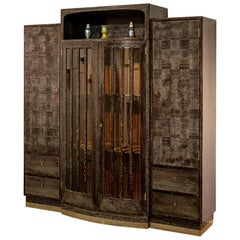 Cabinet Design Hans Vollmer circa 1910 Documented Execution Jacob Kain