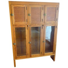 Cabinet for Kitchen Dining Room Storage from Historic Chicago Pullman Home 1920s
