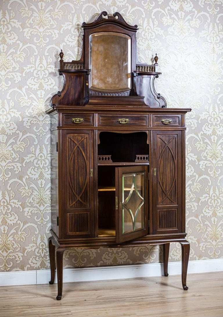 European Cabinet from the Turn of the 19th and 20th Centuries For Sale