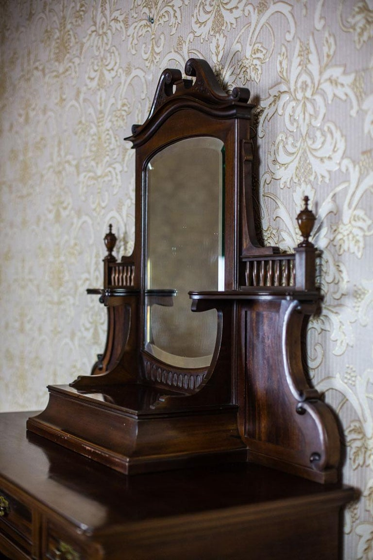 Veneer Cabinet from the Turn of the 19th and 20th Centuries For Sale