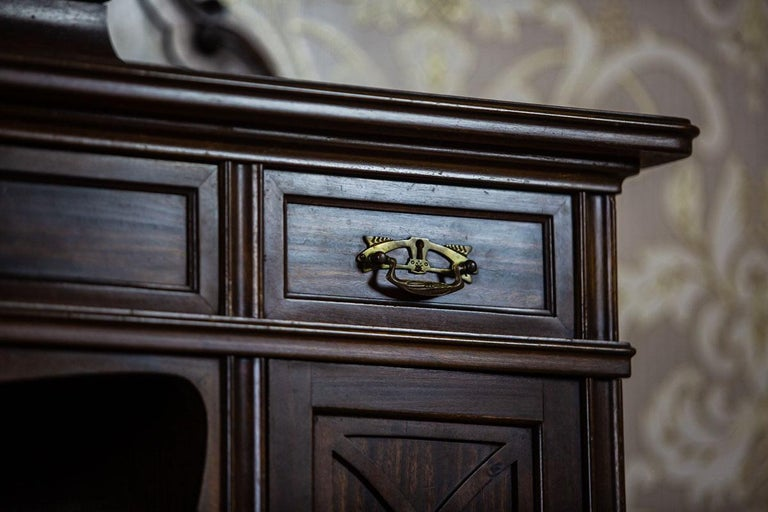 Cabinet from the Turn of the 19th and 20th Centuries In Good Condition For Sale In Opole, PL