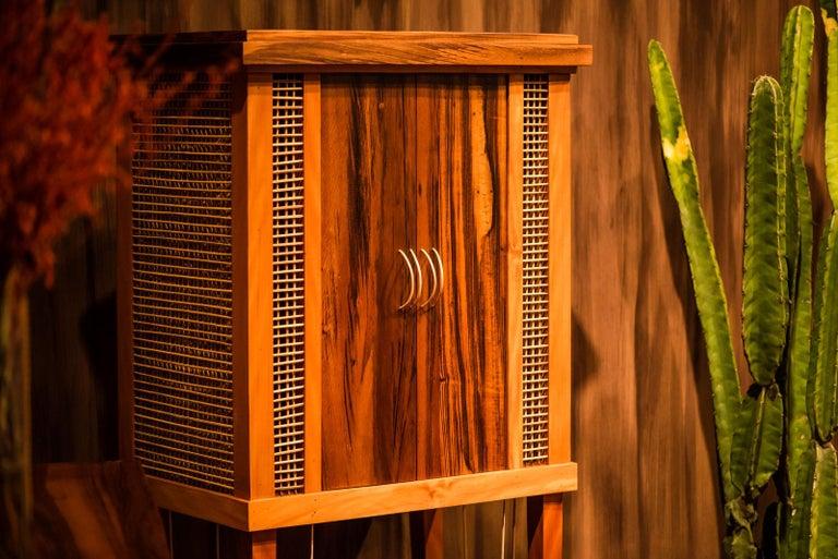 Brazilian Cabinet in Hardwood, Oratório Nordestino For Sale