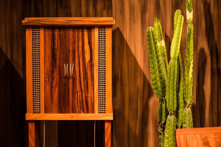 Cabinet in Hardwood, Oratório Nordestino In New Condition For Sale In Rio de Janeiro, BR