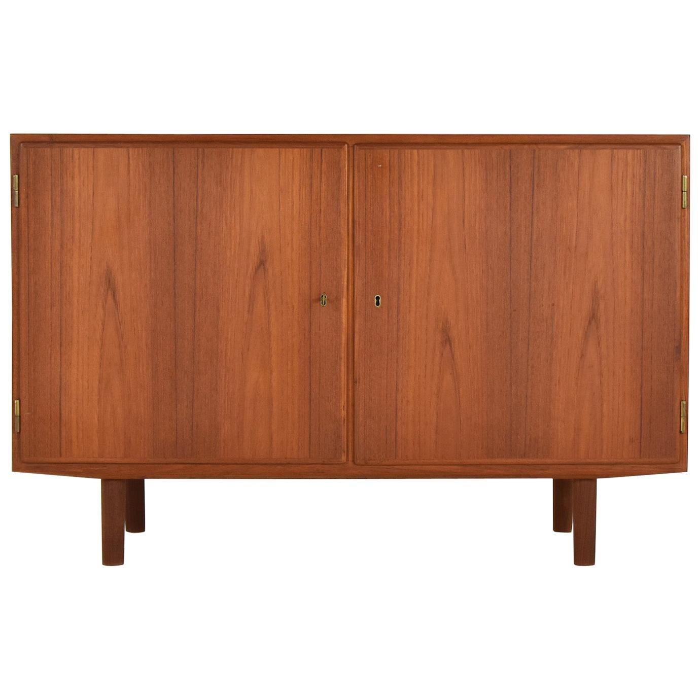 Cabinet in Teak by Poul Hundevad for Hundevad & Co, Denmark, 1950s