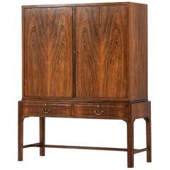 Cabinet in the Style of Kaare Klint by Cabinetmaker C.B. Hansen in Denmark