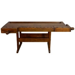 Cabinet Makers Work Bench, as Sideboard, Serving Table or Bar