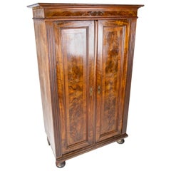 Cabinet of Walnut, in Great Antique Condition from the 1880s