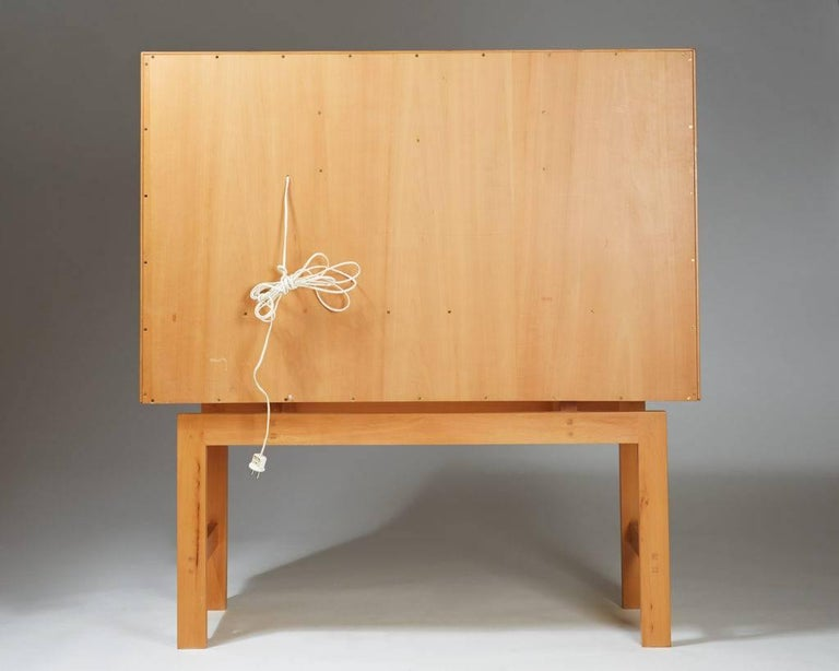 Cabinet on Stand, Anonymous, Sweden, 1950s For Sale 2