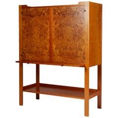 Cabinet on Stand Model 2135 Designed, Josef Frank for Svenskt Tenn Sweden, 1950s
