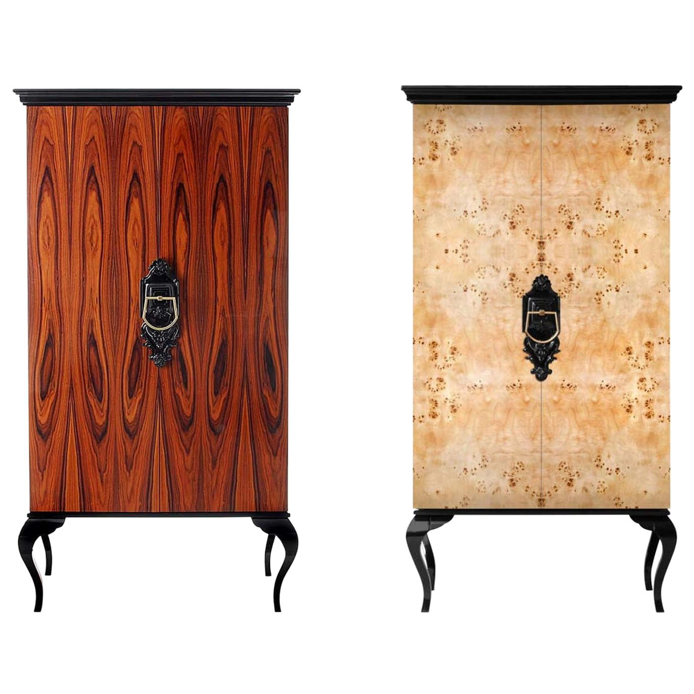 Cabinet Patch in Lacquered Wood