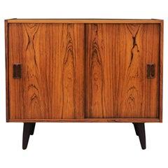 Cabinet Rosewood, Danish Design, 1970, Designer Niels J. Thorsø